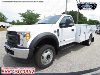2017 F-450 Regular Cab DRW 4x4, Reading SL Service Body #T790016 - photo 4
