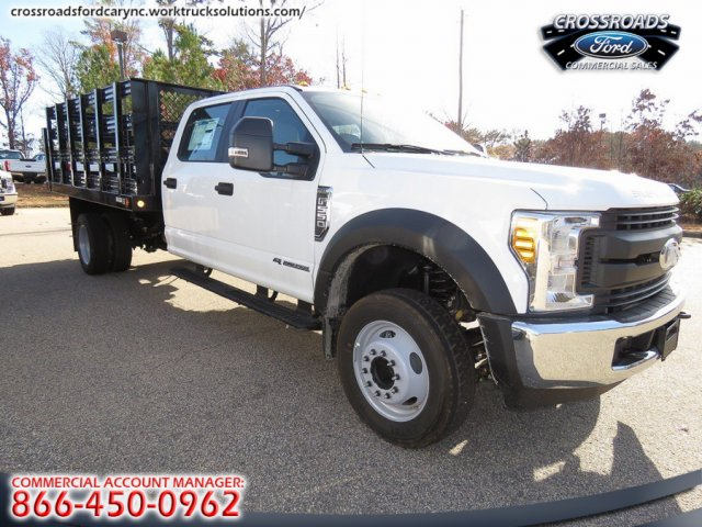 2017 F-550 Crew Cab DRW, Reading Stake Bed #T790859 - photo 11