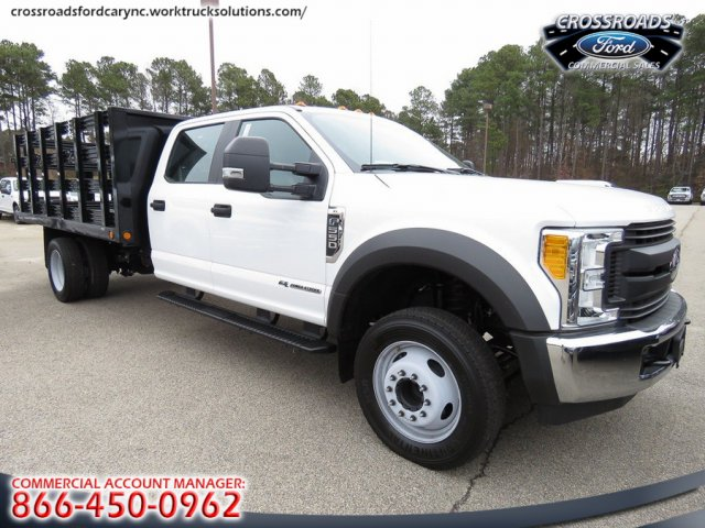 2017 F-550 Crew Cab DRW, Stake Bed #T790868 - photo 5