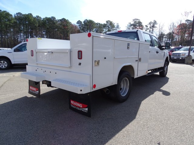 2018 F-350 Crew Cab DRW 4x4,  Reading Service Body #T796536 - photo 4