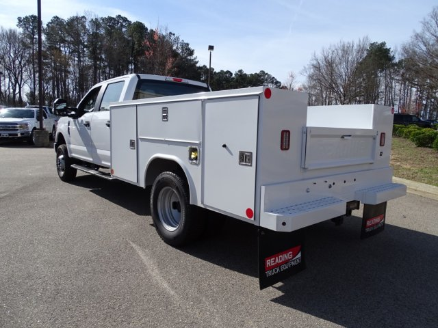 2018 F-350 Crew Cab DRW 4x4,  Reading Service Body #T796536 - photo 2
