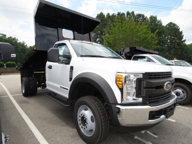 2017 F-450 Regular Cab DRW, PJ's Truck Bodies & Equipment Platform Body #T799022 - photo 3