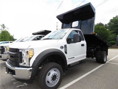 2017 F-450 Regular Cab DRW, PJ's Truck Bodies & Equipment Platform Body #T799022 - photo 1