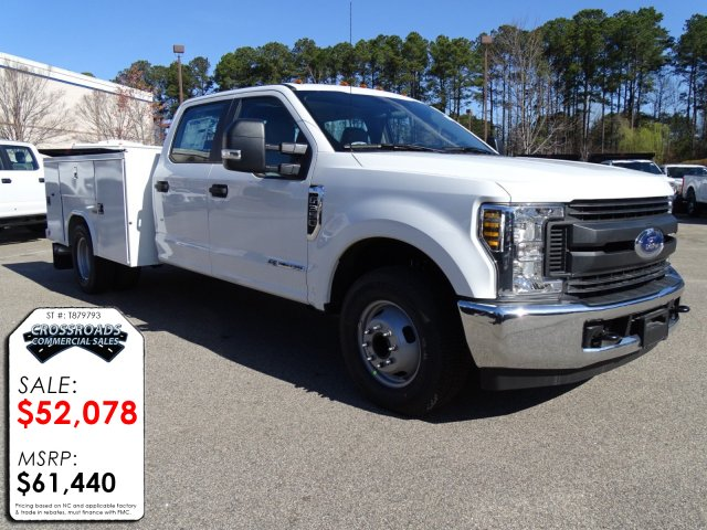 2018 F-350 Crew Cab DRW 4x2,  Reading Service Body #T879793 - photo 3