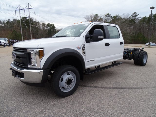 2018 F-450 Crew Cab DRW, PJ's Truck Bodies & Equipment Stake Bed #T889342 - photo 3