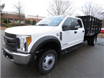 2017 F-550 Crew Cab DRW, Reading Stake Bed #T889382 - photo 1