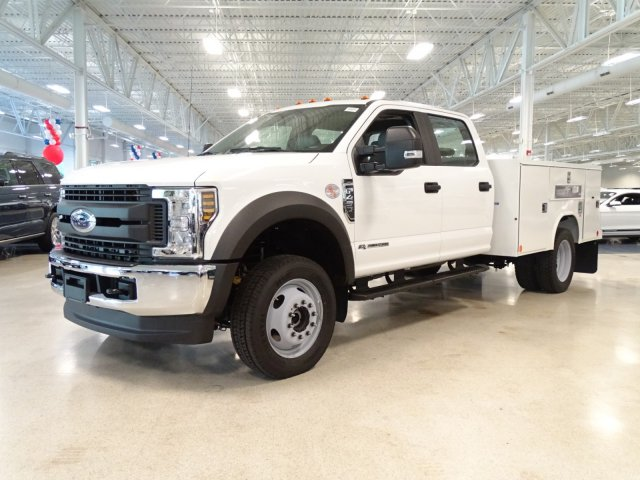 2018 F-450 Crew Cab DRW 4x4,  Reading Service Body #T889758 - photo 8