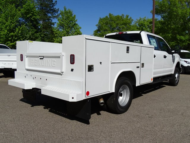 2018 F-350 Crew Cab DRW 4x4,  Reading Service Body #T889759 - photo 2