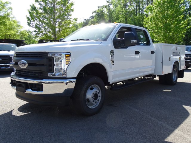 2018 F-350 Crew Cab DRW 4x4,  Reading Service Body #T889759 - photo 4