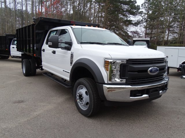 2018 F-450 Crew Cab DRW, PJ's Truck Bodies & Equipment Landscape Dump #T889942 - photo 3
