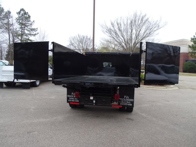 2018 F-450 Crew Cab DRW, PJ's Truck Bodies & Equipment Landscape Dump #T889942 - photo 30