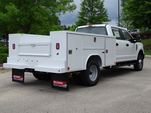 2018 F-350 Crew Cab DRW 4x4,  Reading Service Body #T889981 - photo 4