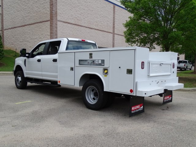 2018 F-350 Crew Cab DRW 4x4,  Reading Service Body #T889981 - photo 2