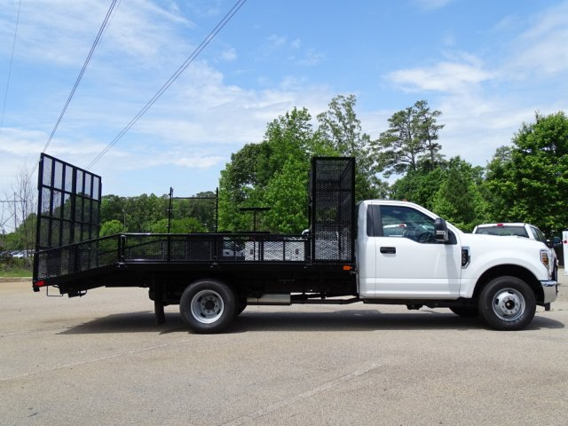 2018 F-350 Regular Cab DRW 4x2,  PJ's Truck Bodies & Equipment Dovetail Landscape #T890235 - photo 5