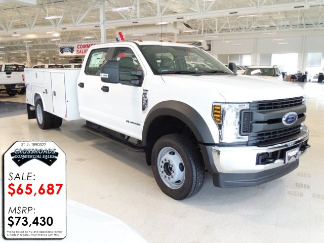 2018 F-550 Crew Cab DRW 4x4,  Reading Service Body #T890322 - photo 3