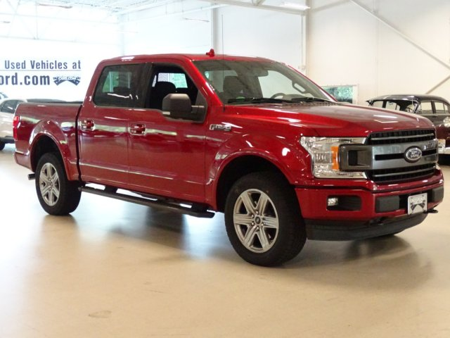 2018 F-150 SuperCrew Cab 4x4,  Pickup #T979026 - photo 3