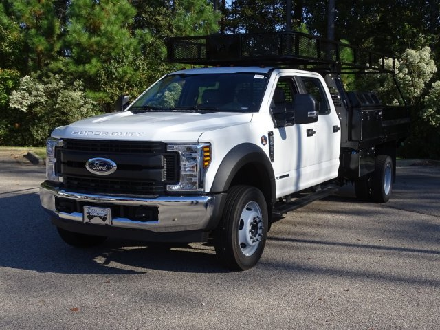 2019 Ford F-450 Crew Cab DRW 4x2, PJ's Contractor Body #T980687 - photo 1