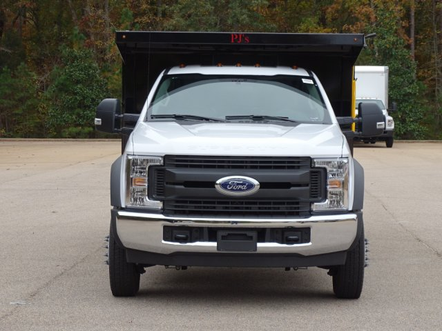 2019 F-450 Regular Cab DRW 4x2,  PJ's Truck Bodies & Equipment Landscape Dump #T989218 - photo 8