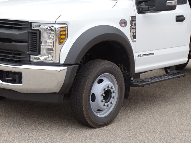 2019 F-450 Regular Cab DRW 4x2,  PJ's Truck Bodies & Equipment Landscape Dump #T989218 - photo 9