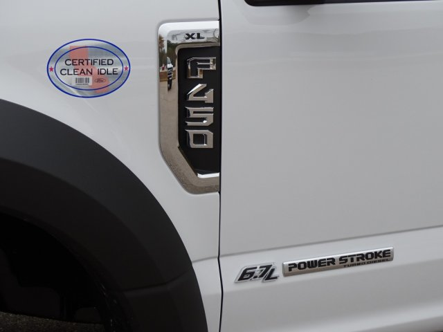 2019 F-450 Regular Cab DRW 4x2,  PJ's Truck Bodies & Equipment Landscape Dump #T989218 - photo 11