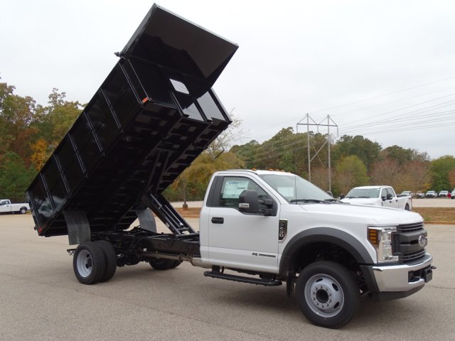 2019 F-450 Regular Cab DRW 4x2,  PJ's Truck Bodies & Equipment Landscape Dump #T989218 - photo 33