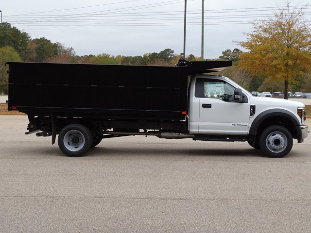 2019 F-450 Regular Cab DRW 4x2,  PJ's Truck Bodies & Equipment Landscape Dump #T989218 - photo 4