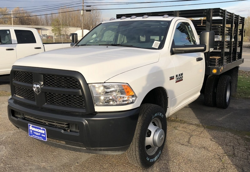 2017 Ram 3500 Regular Cab DRW 4x4, Reading Steel Stake Bodies Stake Bed #T17297 - photo 1