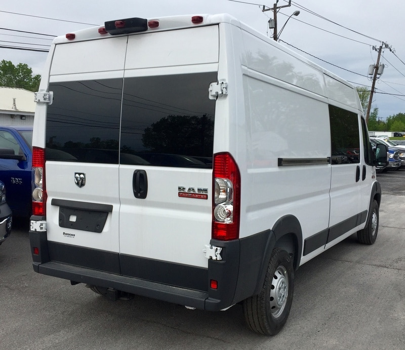 2018 ProMaster 2500 High Roof 4x2,  Upfitted Cargo Van #T18192 - photo 3