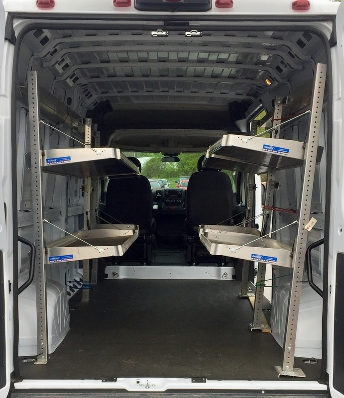 2018 ProMaster 2500 High Roof 4x2,  Upfitted Cargo Van #T18192 - photo 2