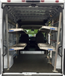 2018 ProMaster 2500 High Roof 4x2,  Upfitted Cargo Van #T18192 - photo 1