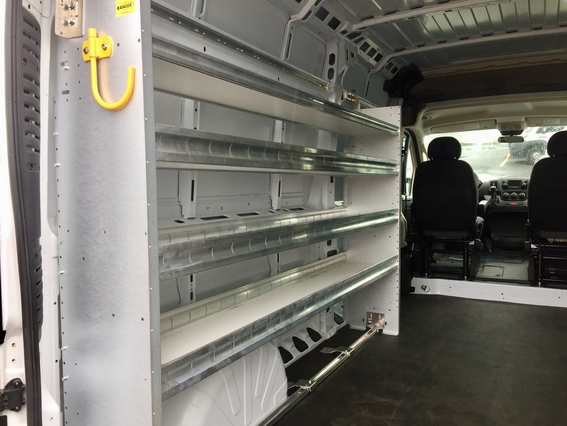 2018 ProMaster 2500 High Roof 4x2,  Ranger Design Upfitted Cargo Van #T18199 - photo 2