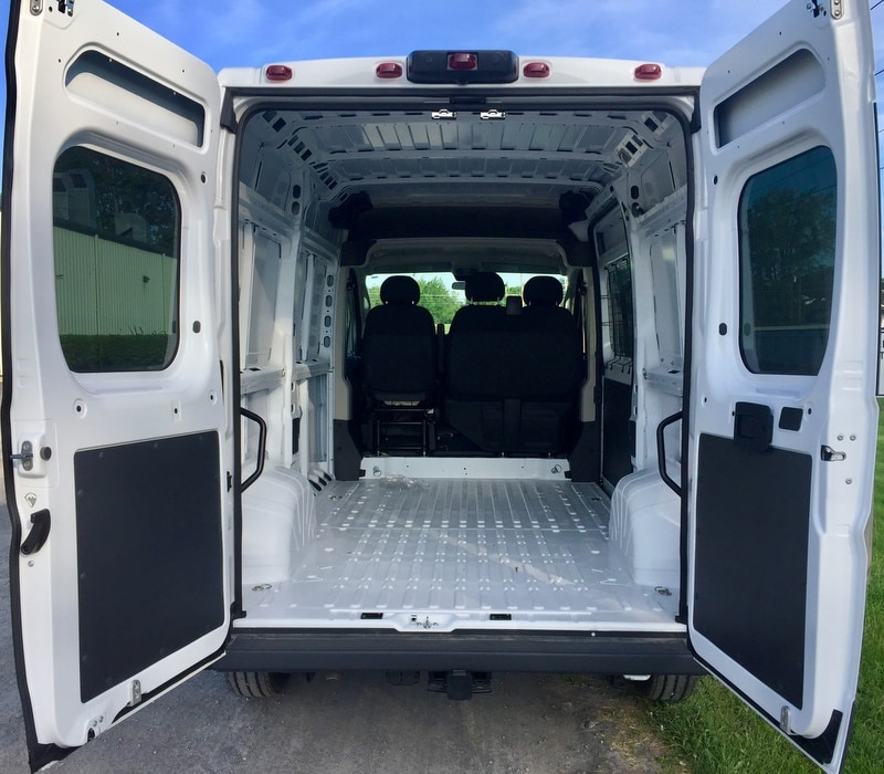 2018 ProMaster 2500 High Roof 4x2,  Empty Cargo Van #T18207 - photo 2
