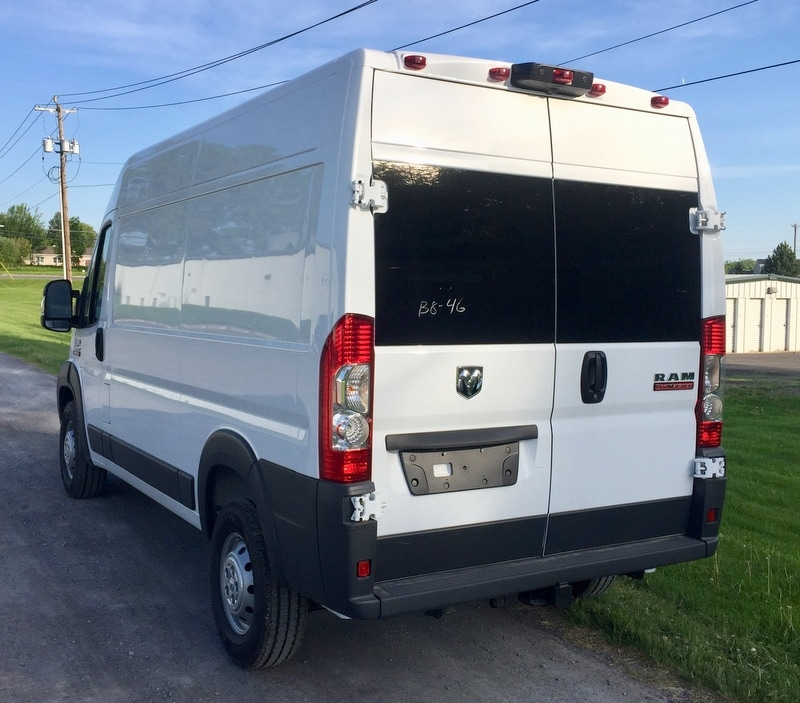 2018 ProMaster 2500 High Roof 4x2,  Empty Cargo Van #T18207 - photo 3