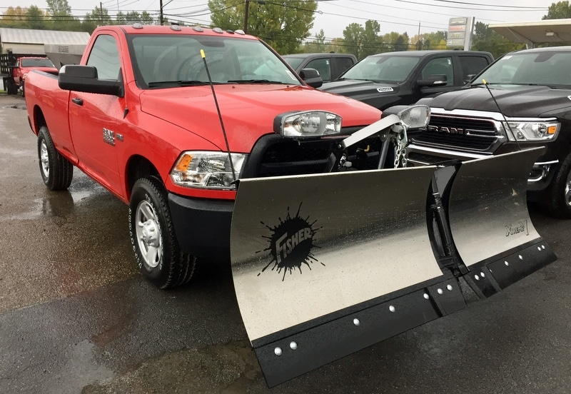 2018 Ram 2500 Regular Cab 4x4,  Fisher Snowplow Pickup #T18221 - photo 4