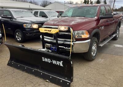 2018 Ram 2500 Crew Cab 4x4,  Sno-Way Snowplow Pickup #T18274 - photo 1
