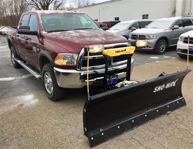 2018 Ram 2500 Crew Cab 4x4,  Sno-Way Snowplow Pickup #T18274 - photo 4