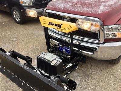 2018 Ram 2500 Crew Cab 4x4,  Sno-Way Snowplow Pickup #T18274 - photo 5