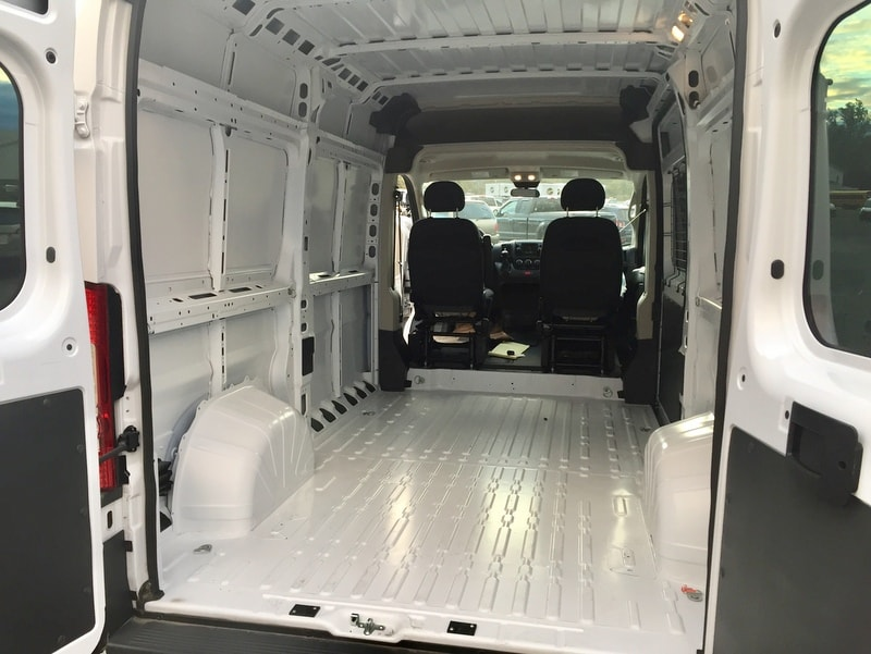 2018 ProMaster 2500 High Roof FWD,  Empty Cargo Van #T18292 - photo 2