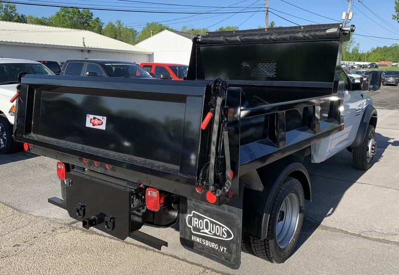 2018 Ram 5500 Regular Cab DRW 4x4,  Iroquois Brave Series Steel Dump Body #T18305 - photo 10