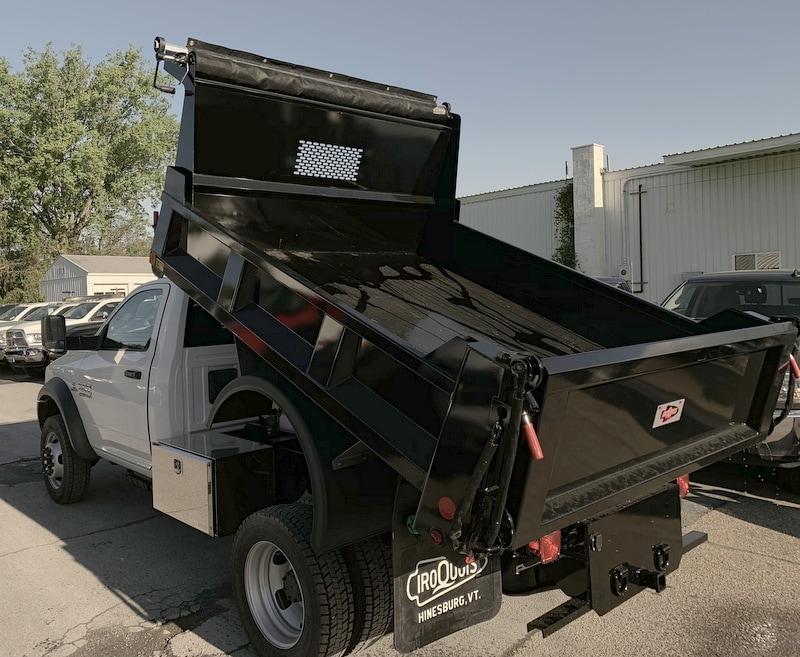 2018 Ram 5500 Regular Cab DRW 4x4,  Iroquois Brave Series Steel Dump Body #T18305 - photo 13