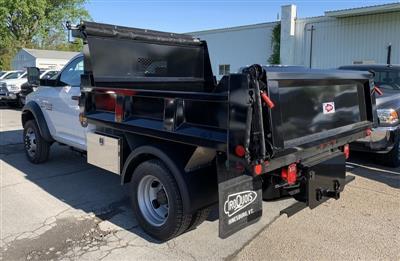 2018 Ram 5500 Regular Cab DRW 4x4,  Iroquois Brave Series Steel Dump Body #T18305 - photo 2