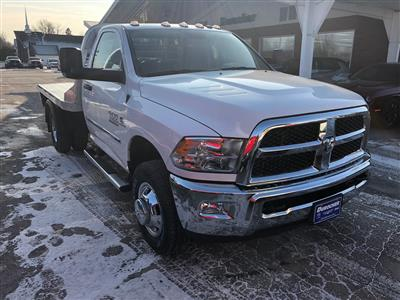 2018 Ram 3500 Regular Cab DRW 4x4,  CM Truck Beds RD Model Platform Body #T18319 - photo 4