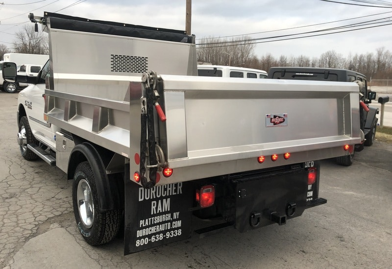 2018 Ram 3500 Regular Cab DRW 4x4,  Iroquois Dump Body #T18320 - photo 2