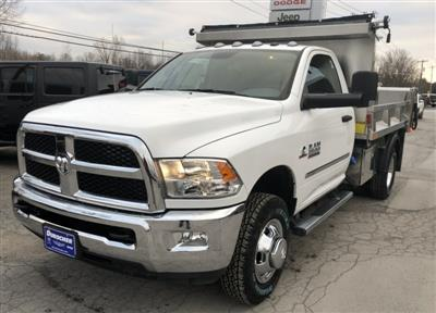 2018 Ram 3500 Regular Cab DRW 4x4,  Iroquois Brave Series Stainless Steel Dump Body #T18320 - photo 1