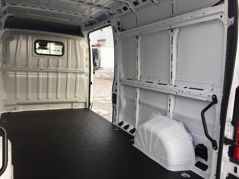 2018 ProMaster 3500 High Roof FWD,  Empty Cargo Van #T18326 - photo 2