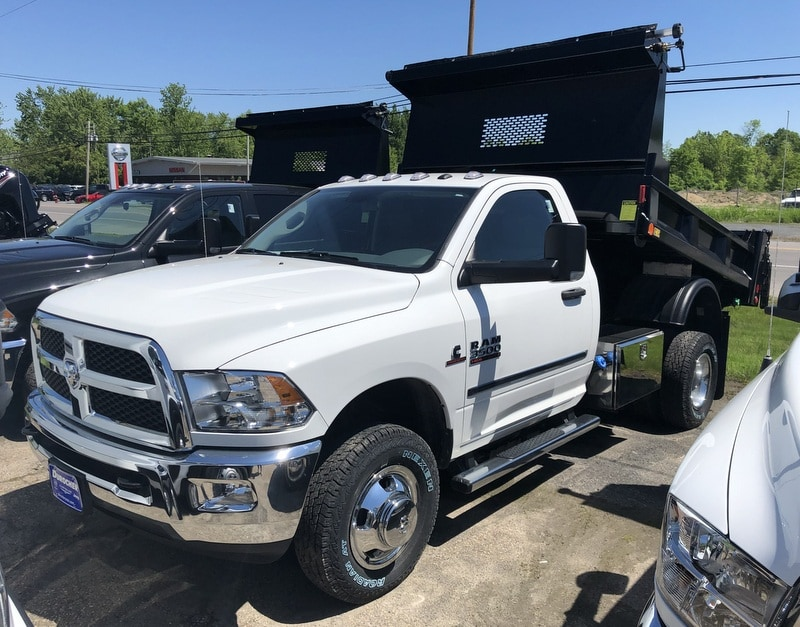 2018 Ram 3500 Regular Cab DRW 4x4,  Iroquois Dump Body #T18335 - photo 1
