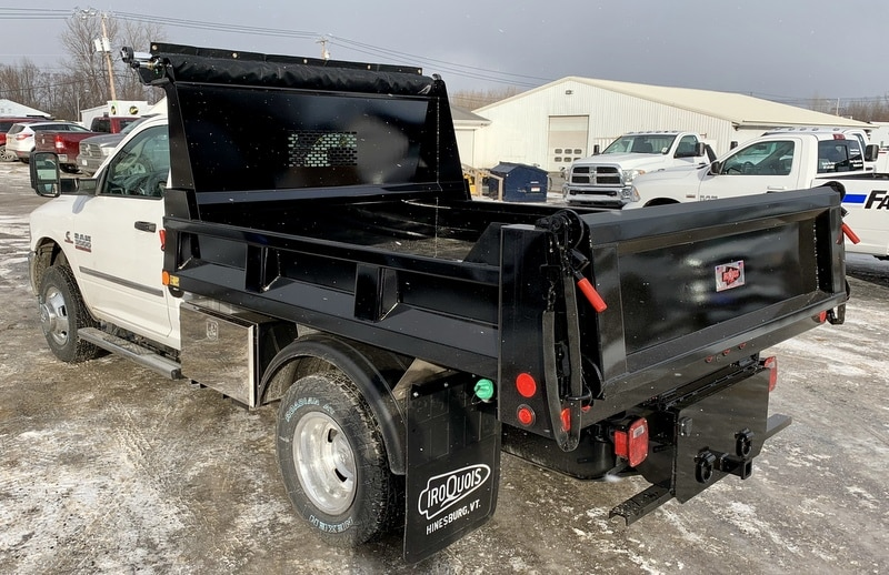 2018 Ram 3500 Regular Cab DRW 4x4,  Iroquois Dump Body #T18335 - photo 2