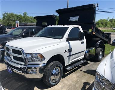 2018 Ram 3500 Regular Cab DRW 4x4,  Iroquois Brave Series Steel Dump Body #T18335 - photo 1