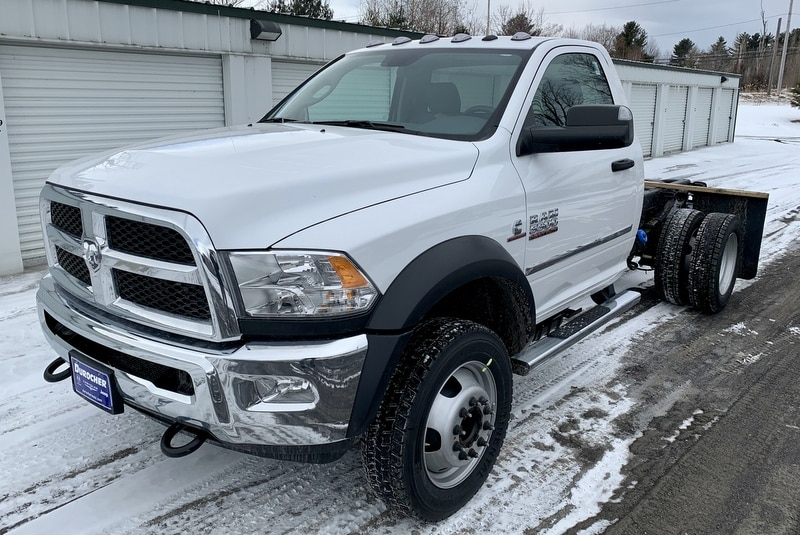 2018 Ram 5500 Regular Cab DRW 4x4,  Cab Chassis #T18355 - photo 1