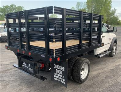 2018 Ram 5500 Regular Cab DRW 4x4,  Reading Steel Stake Bed #T18355 - photo 3